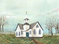 Country Church III Fine-Art Print