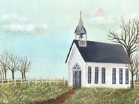 Country Church IV Fine-Art Print