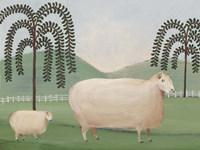 Folk Farm I Fine-Art Print