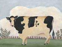 Folk Farm II Fine-Art Print