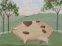 Folk Farm III Fine-Art Print