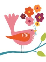 Cute Bird III Fine-Art Print