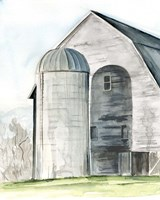 Weathered Barn I Fine-Art Print
