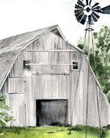 Weathered Barn II Fine-Art Print