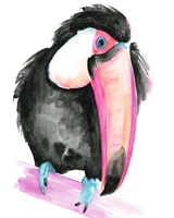 Technicolor Toucan I Fine-Art Print