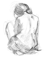 Sitting Pose I Fine-Art Print