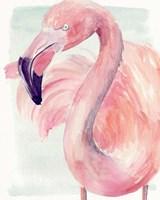 Pastel Flamingo I Fine-Art Print