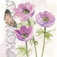 Flowers & Lace I Fine-Art Print