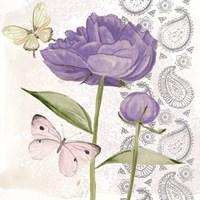Flowers & Lace IV Fine-Art Print