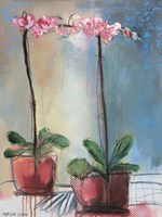 Orchid and Lace I Fine-Art Print