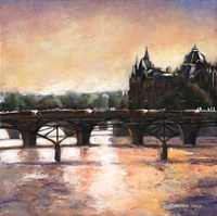 Sunset In Paris Fine-Art Print