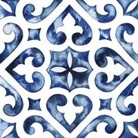 Cobalt Tile VI Fine-Art Print