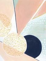 Peach Eclipse I Fine-Art Print