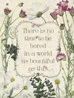 Pressed Floral Quote I Fine-Art Print