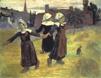 Breton Girls, 1888 Fine-Art Print