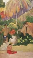 Landscape in Tahiti 1892 Fine-Art Print