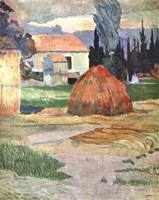 Landscape in Brittany, 1888 Fine-Art Print