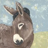 Farm Life-Donkey Fine-Art Print
