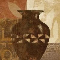 Ethnic Vase IV Fine-Art Print