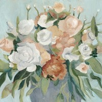 Soft Pastel Bouquet I Fine-Art Print