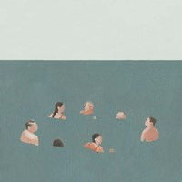 The Swimmers I Fine-Art Print