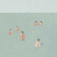The Swimmers II Fine-Art Print