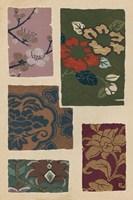 Japanese Textile Design II Fine-Art Print