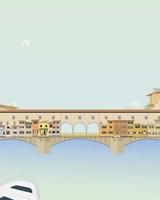 Travel Europe--Ponte Vecchio Fine-Art Print