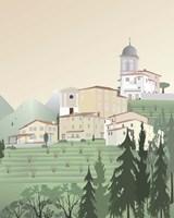 Travel Europe--Pedona Fine-Art Print
