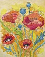 Poppy Collage II Fine-Art Print