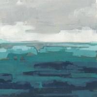 Sea Foam Vista II Fine-Art Print