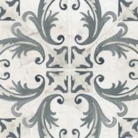 Teal Tile Collection I Fine-Art Print