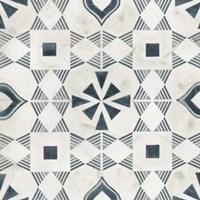 Teal Tile Collection V Fine-Art Print