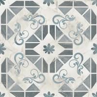 Teal Tile Collection VI Fine-Art Print