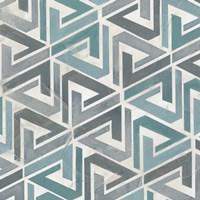 Teal Tile Collection II Fine-Art Print