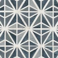 Teal Tile Collection VII Fine-Art Print