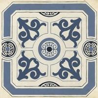 Indigo Motif III Fine-Art Print