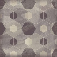 Hexagon Tile IV Fine-Art Print
