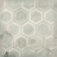 Hexagon Tile VII Fine-Art Print