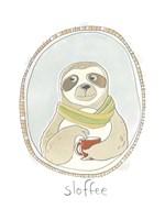 Caffeinated Cutie III Fine-Art Print