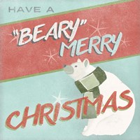 Retro Christmas II Fine-Art Print