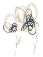 Monochrome Floral Study VI Fine-Art Print