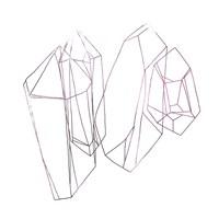 Contour Crystals I Fine-Art Print