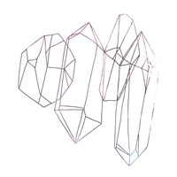 Contour Crystals IV Fine-Art Print