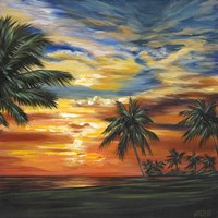 Stunning Tropical Sunset II Fine-Art Print