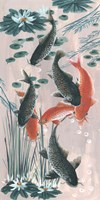 Traditional Koi Pond II Fine-Art Print