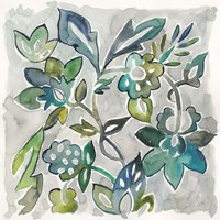Sapphire Vine I Fine-Art Print