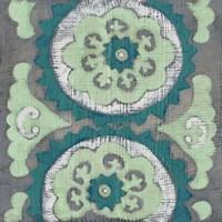 Teal Tapestry III Fine-Art Print