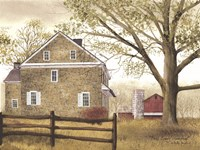 Bucks County Homestead Fine-Art Print