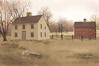 New England Saltbox Fine-Art Print